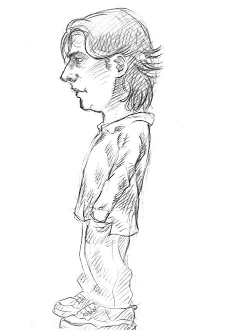 Skizze / Karikatur 02
