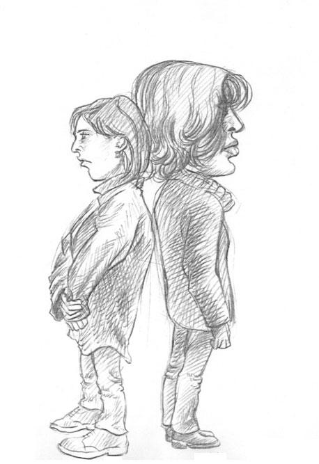 Skizze / Karikatur 03