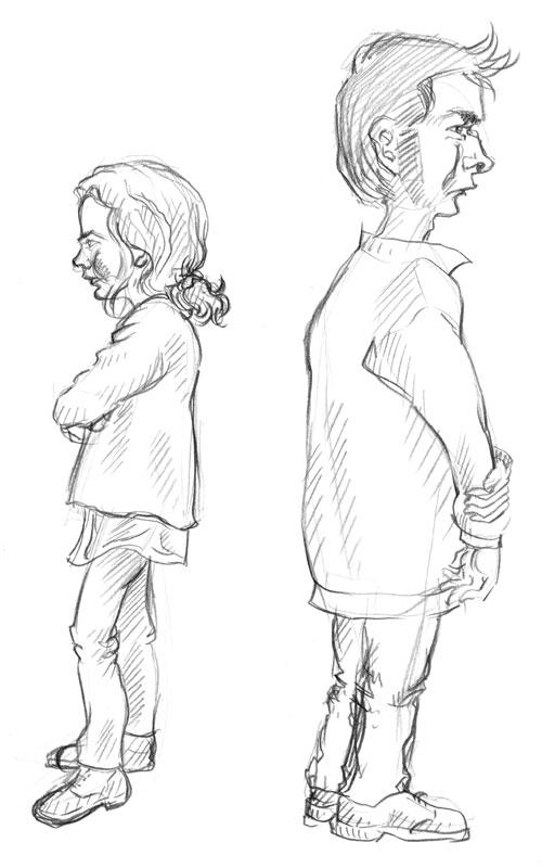 Skizze / Karikatur 04