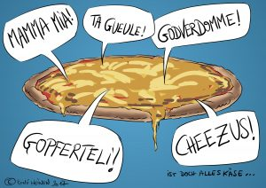 Tag der Käsepizza!!